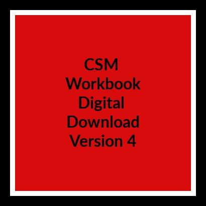 CSM Workbook V4 Digital Download