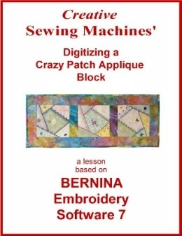 Crazy Patch Applique Digital Download