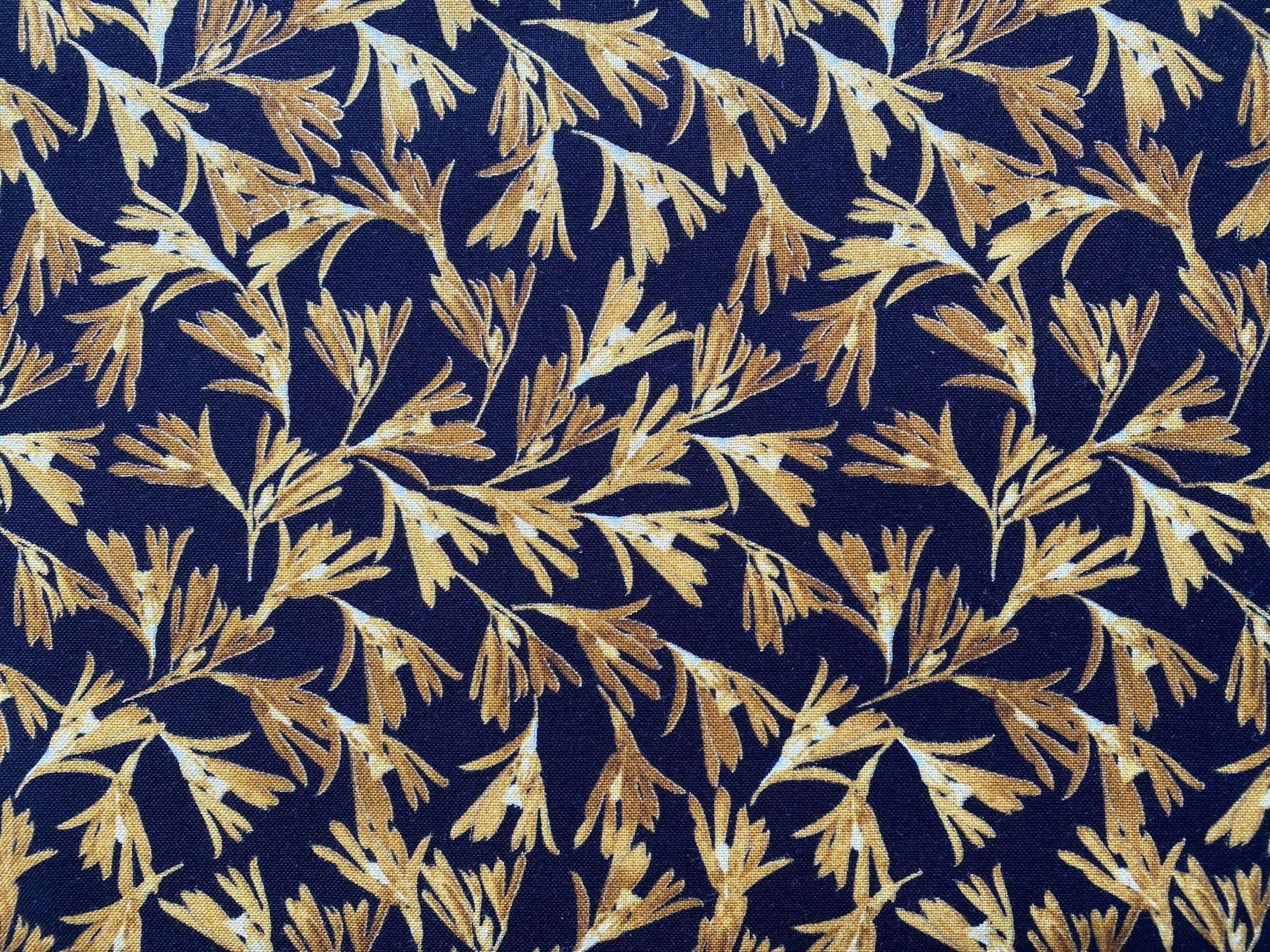 Wild Fern Black/Gold