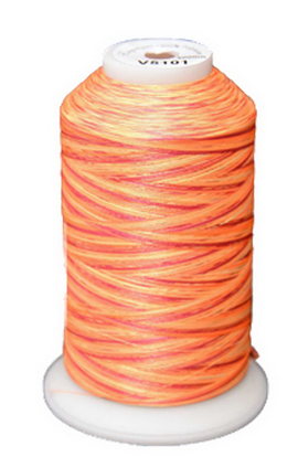 Exquisite Medley Variegated Thread - 101 Sunset