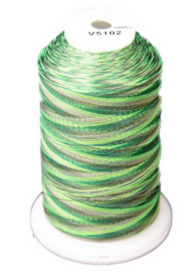 Exquisite Medley Variegated Thread - 102 Forest