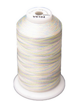Exquisite Medley Variegated Thread - 104 Pastles