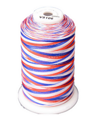 Exquisite Medley Variegated Thread - 106 Patriotic