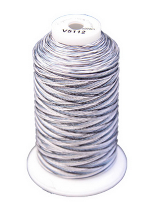 Exquisite Medley Variegated Thread - 112 Salt N Pepper