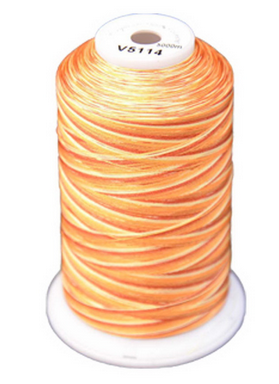 Exquisite Medley Variegated Thread - 114 Amber Glow