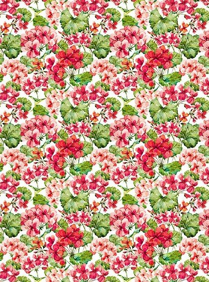 Red and Pink Floral  (O)