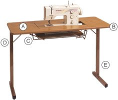 Model 299: Portable Sewing Lift Table