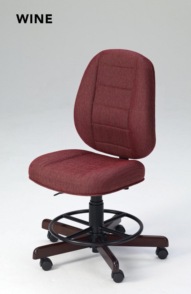 Sewing Chair Wine