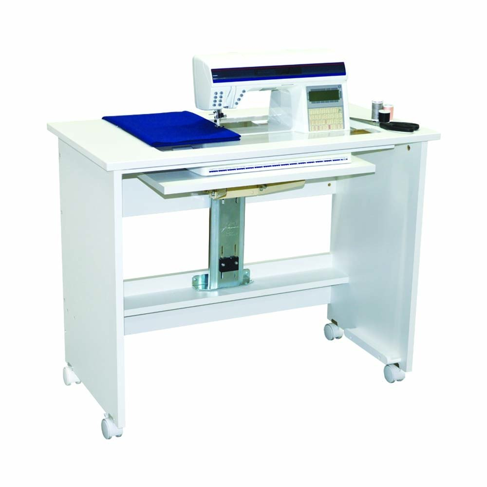 5100 All White Sewing Cabinet
