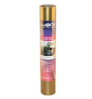 6 FT Roll - Gold Adhesive Craft Vinyl