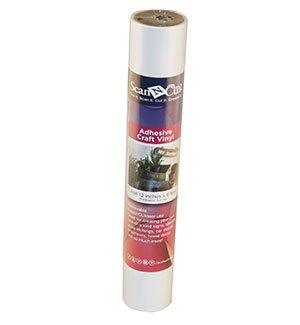 6 FT Roll - White Adhesive Craft Vinyl