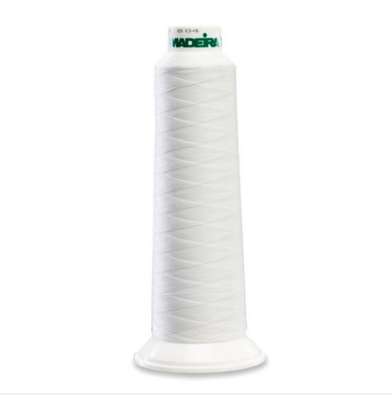 Madeira 8010 White 2000yd Aerolock Premium Serger Thread