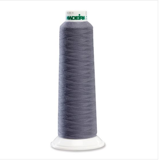 Madeira 8111 Steel Grey 2000yd Aerolock Premium Serger Thread