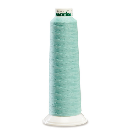 Madeira 8730 Turquoise 2000yd Aerolock Premium Serger Thread