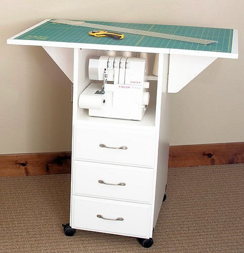 Model 95c WH: 5 Drawer Cutting/Craft Table