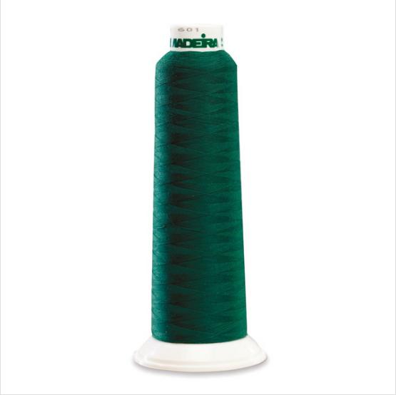 Madeira 9902 Pine Green 2000yd Aerolock Premium Serger Thread