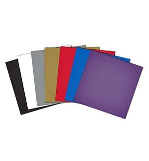 Adhesive Craft Vinyl 12x12 sheets-10 pieces