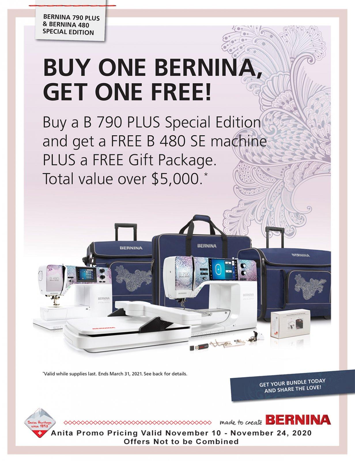 Bernina Special Edition 790E Plus