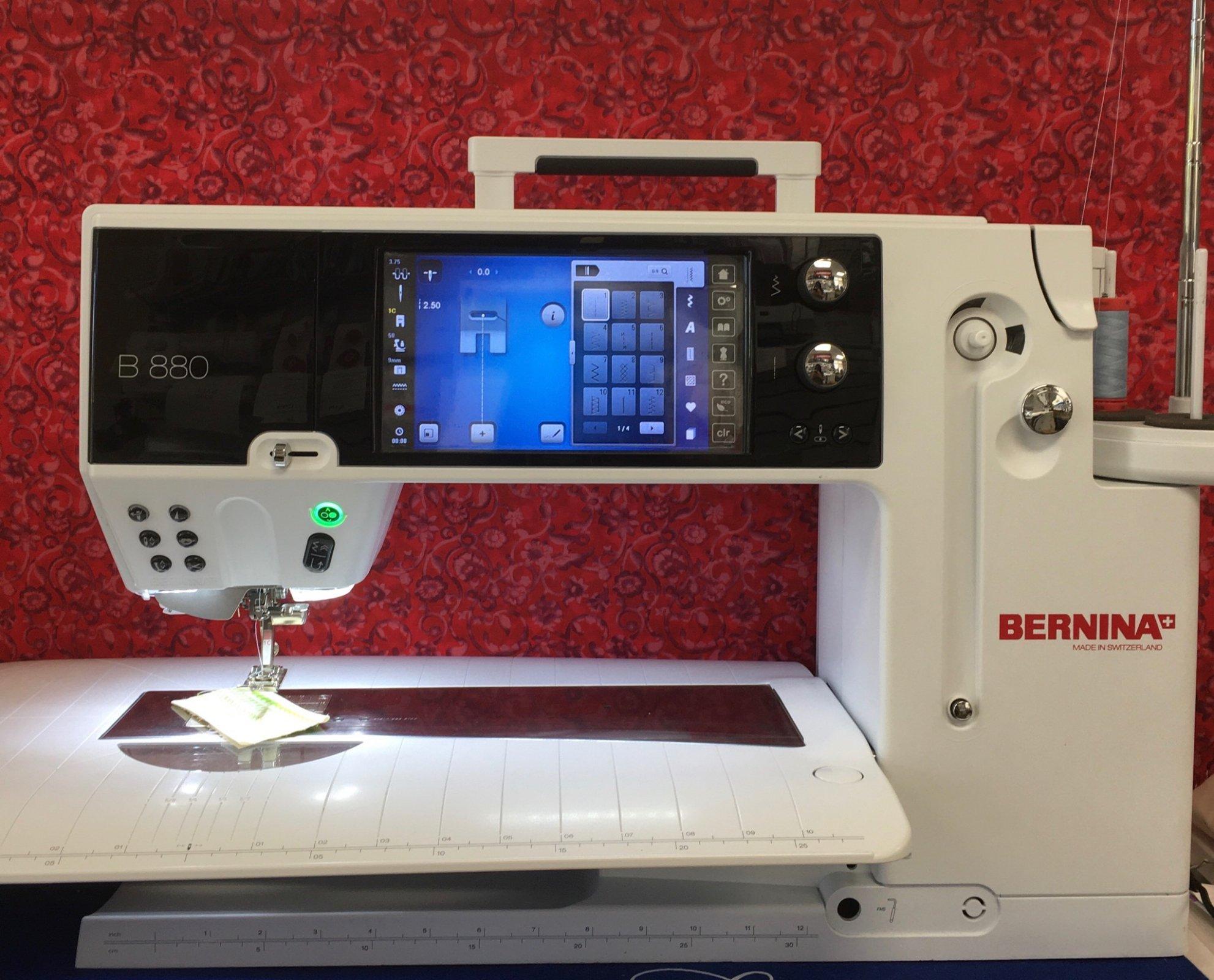 Bernina 880 **    $7,500