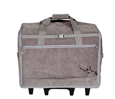 Designer Series 23 Wheeled Sewing Machine Carrier, DS23 - Blossom
