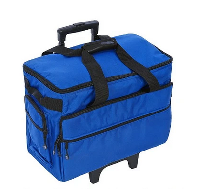 19 Wheeled Sewing Machine Carrier, TB19 - Cobalt Blue