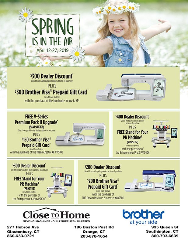 Brother - Springs in Savings Sale