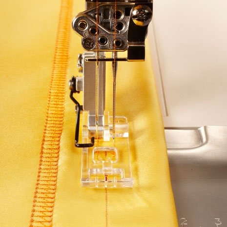 Clear Coverstitch Overlock Foot