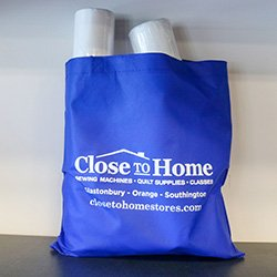 Close to Home Blue Bag