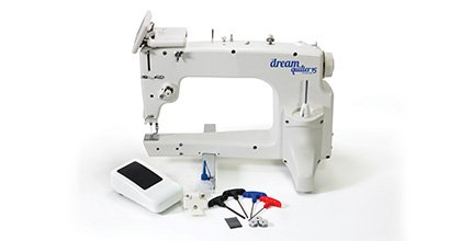 THE Dream Quilter 15S DQLT15S Sit Down 15 Needle to Arm Quilting Machine