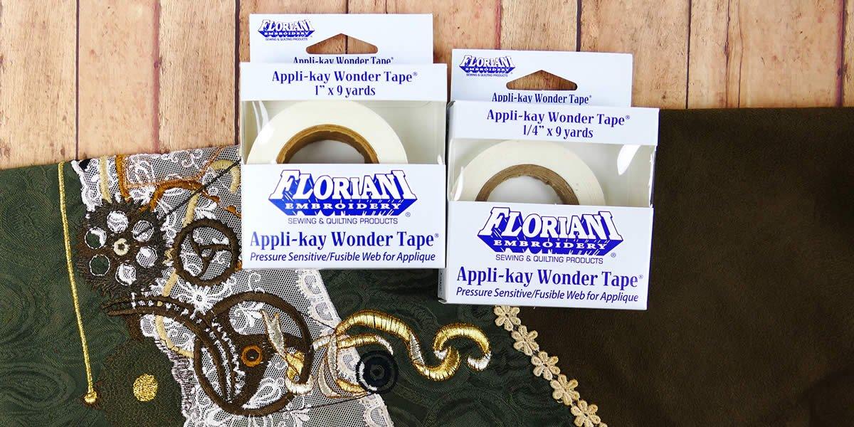 Floriani Appli Kay Wonder Tape - 1.5 x 9 yds