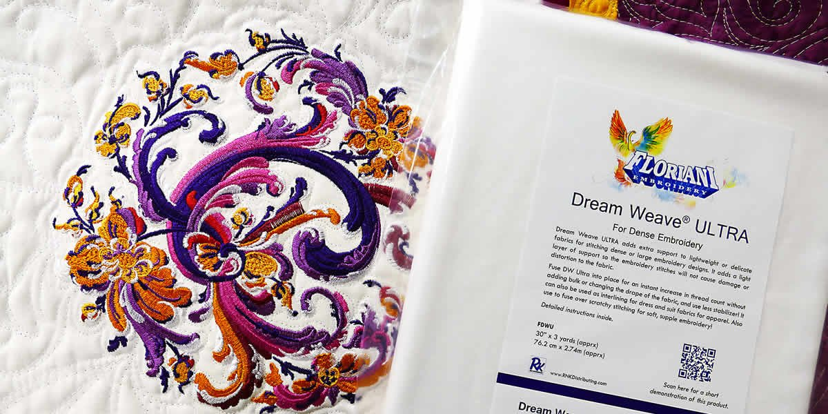 Floriani Dream Weave Ultra 30 x 25 yds