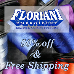 50% Off Floriani Thread