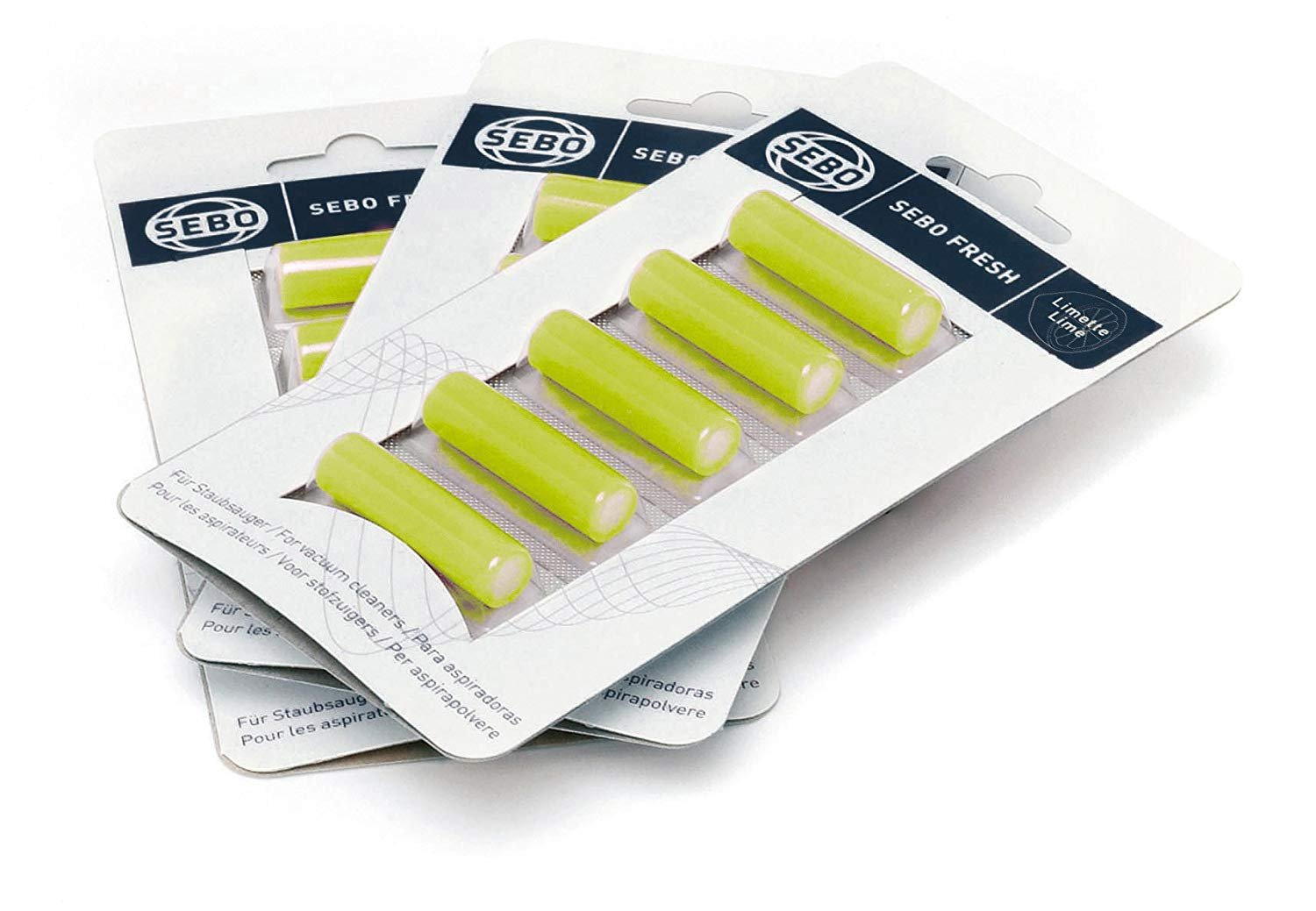 Sebo Fresh Vacuum Air Scent Tabs (Includes 5 Tabs)