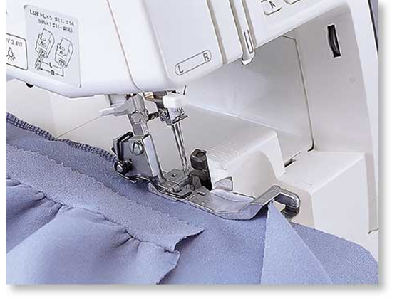 Gathering Foot for Serger