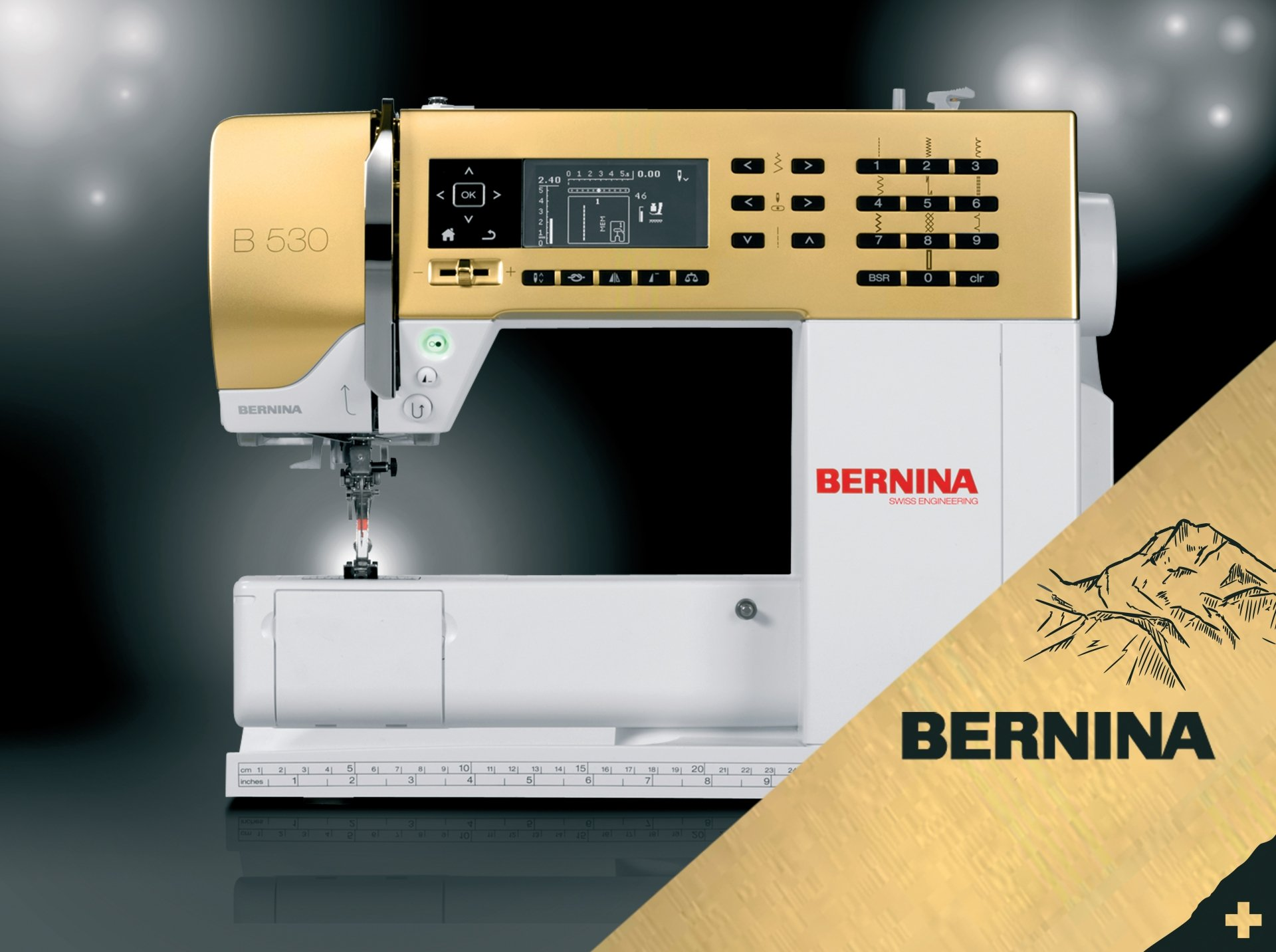 Bernina 530 Gold Edition