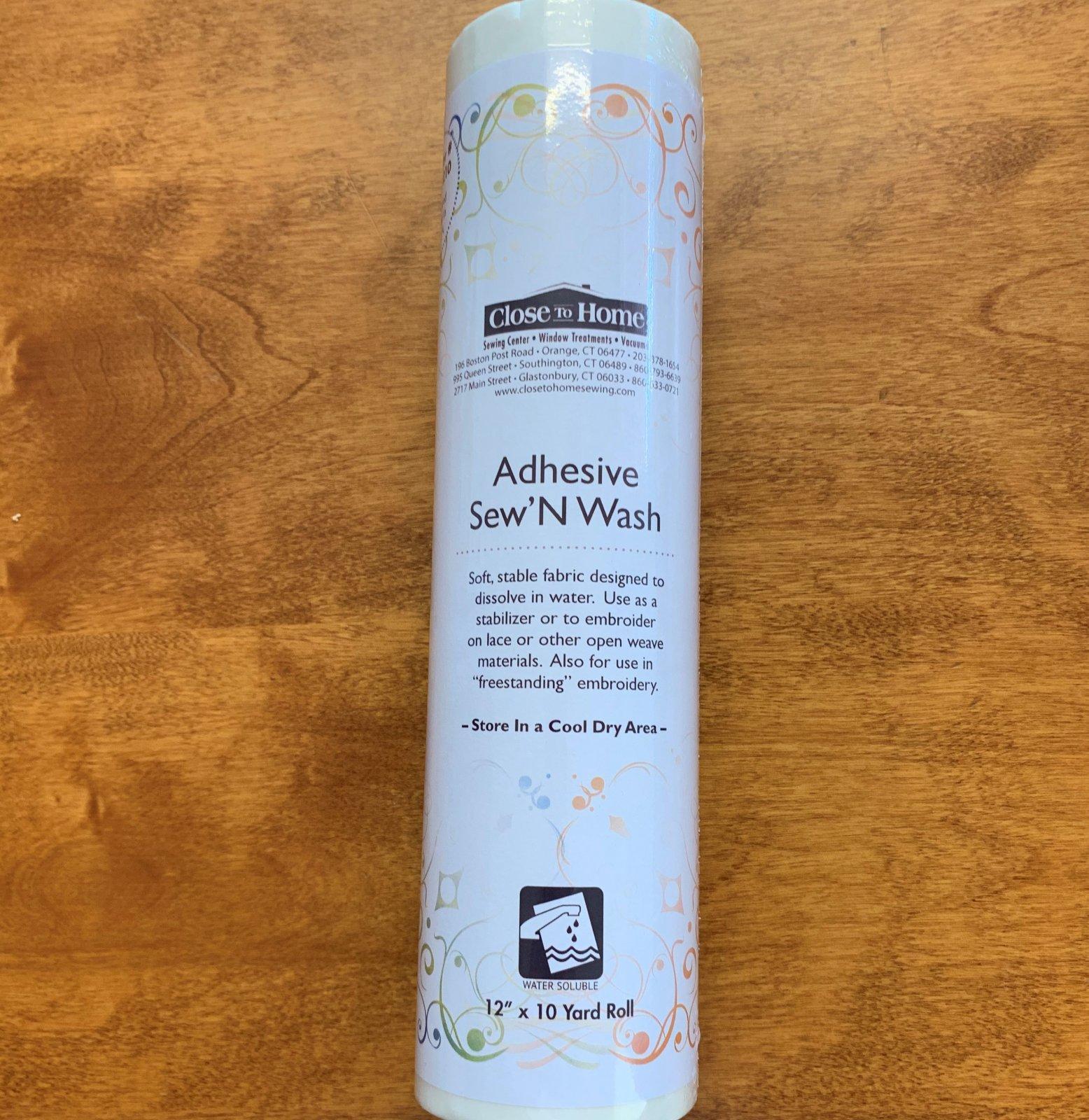 Adhesive Sew N Wash 12 x 10
