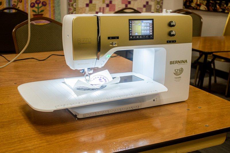 Bernina 770QEE Anniversary Edition
