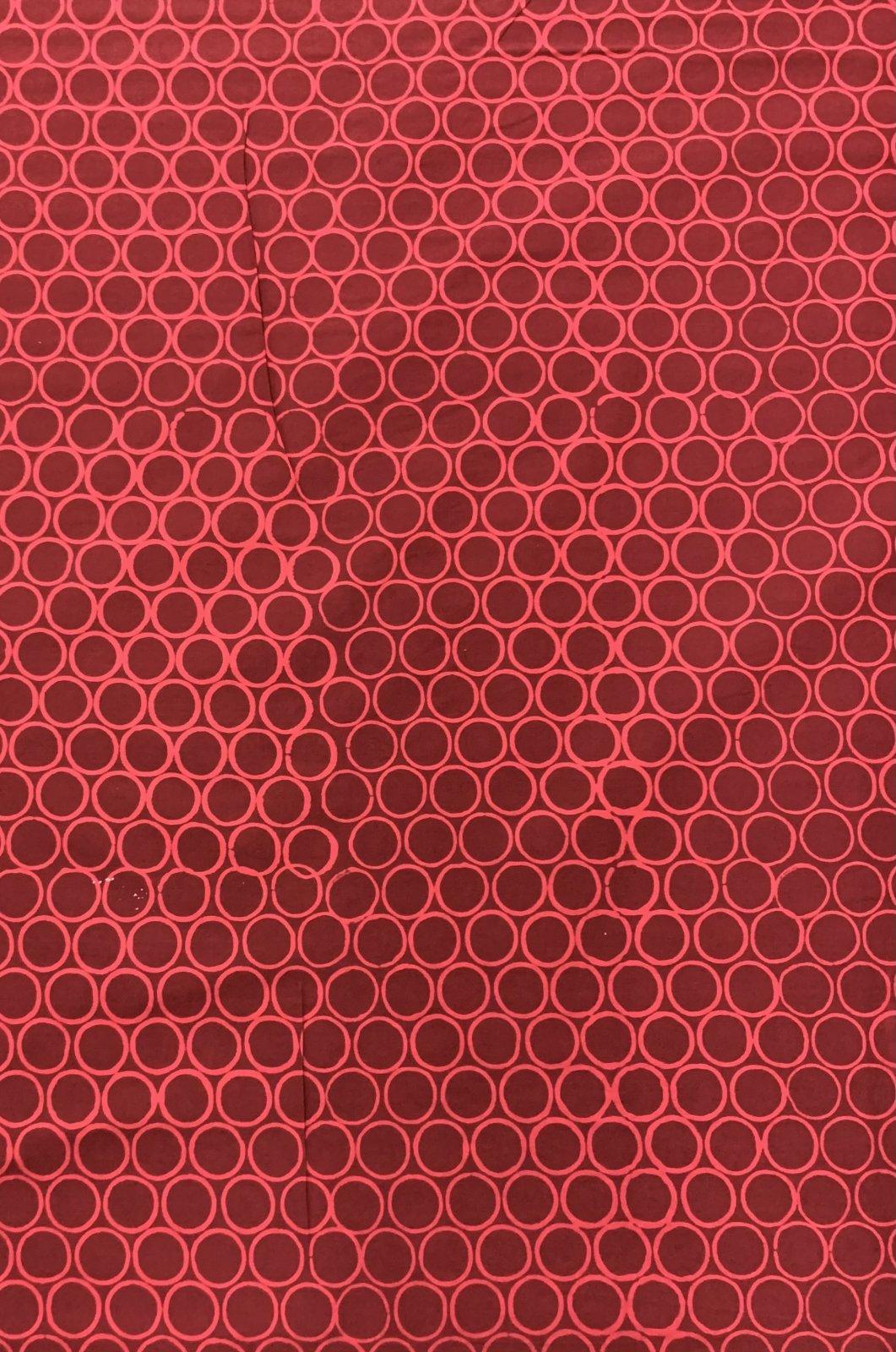 Circles Dark Red (O)