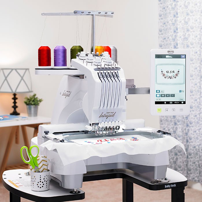 BabyLock Professional 6 Needle Embroidery Machine--Intrepid