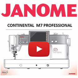 Janome M7 Professional