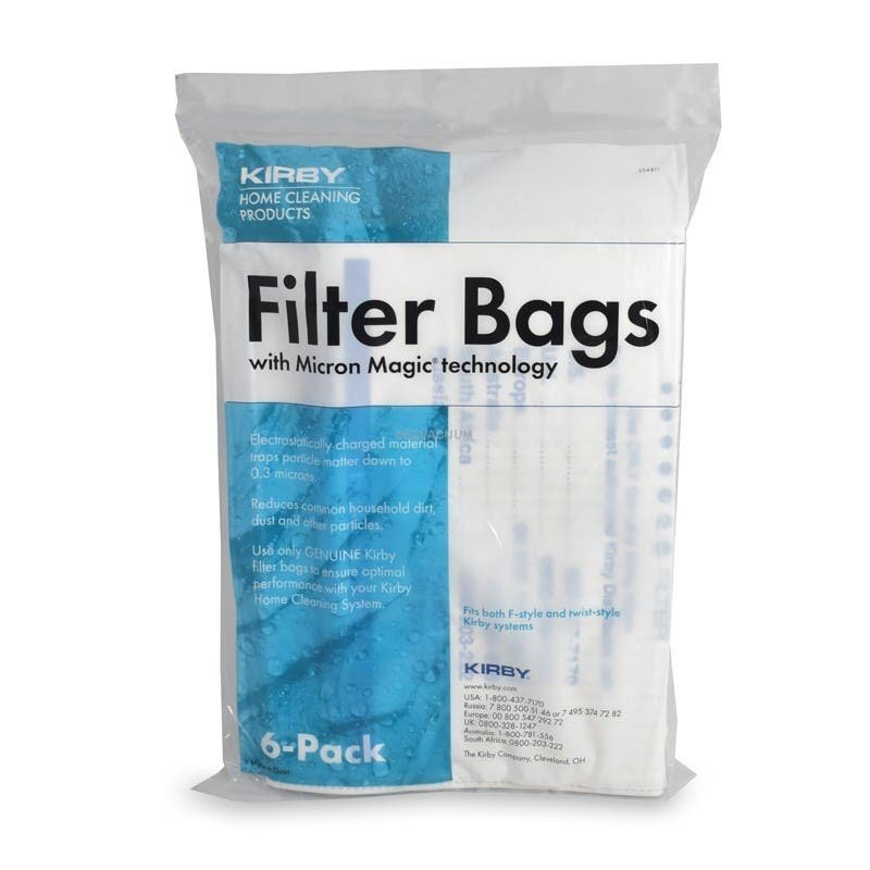Kirby Vacuum Cleaner Bags Hepa Cloth Sentria II