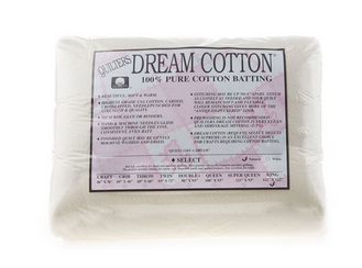 Dream Cotton Batting Select King - Natrual (122 x 120)