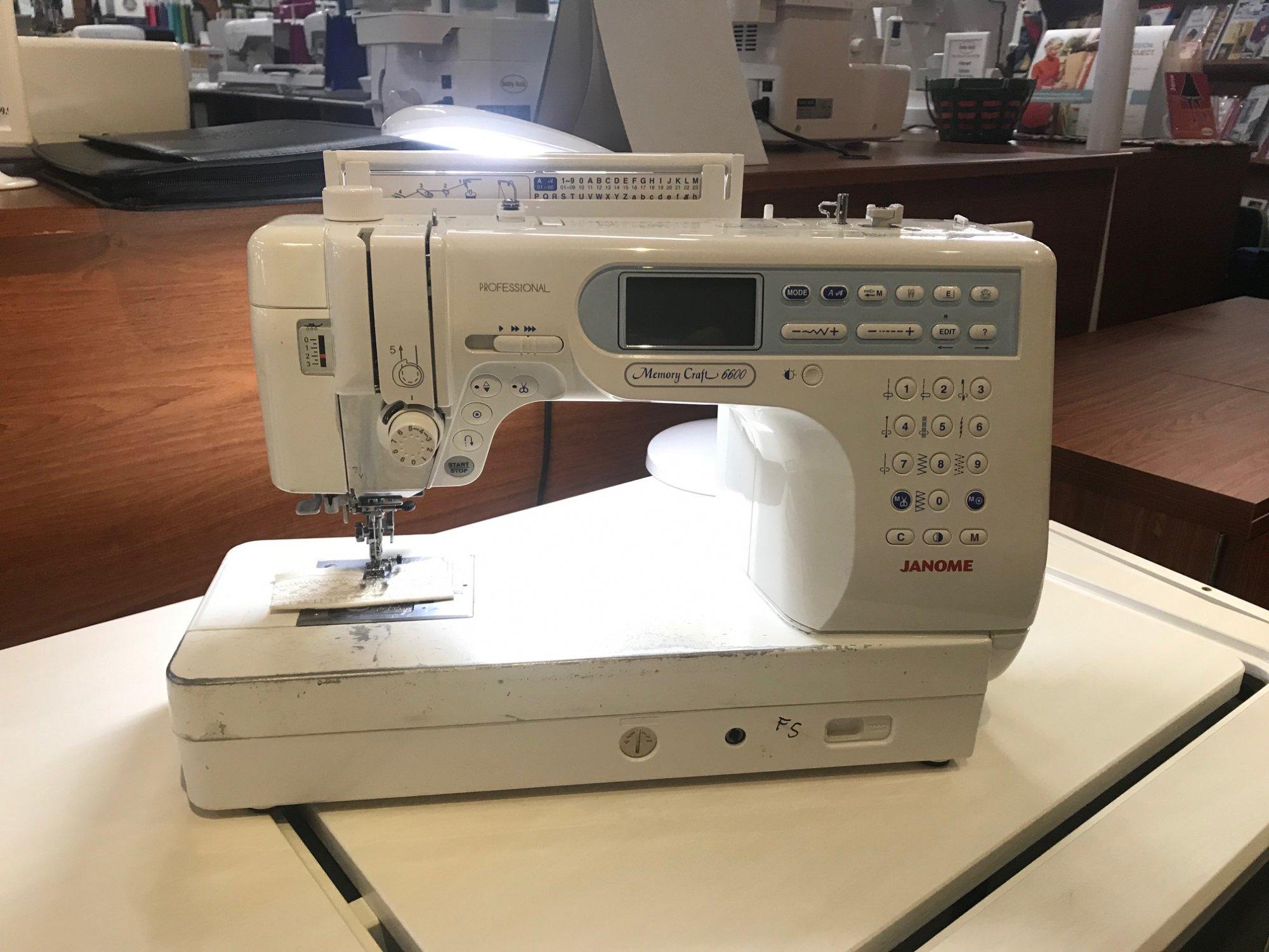 Janome Memory Craft 6600*