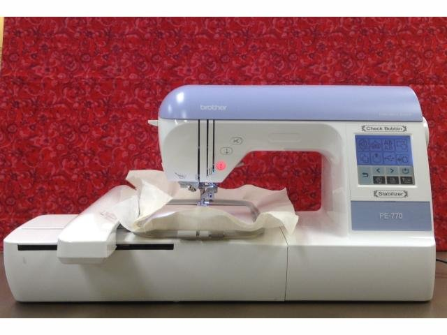 Brother PE-770 Embroidery Only **