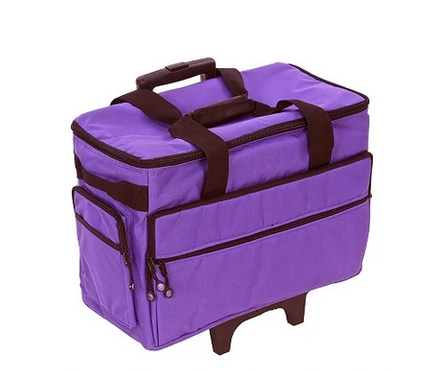 19 Wheeled Sewing Machine Carrier, TB19 - Purple