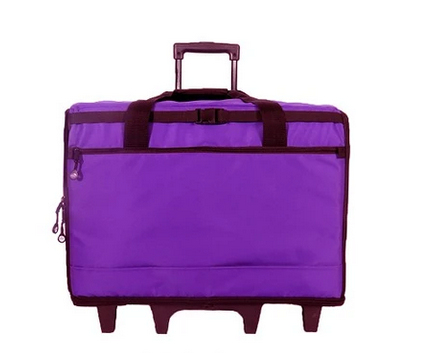 23 Wheeled Sewing Machine Carrier, TB23 - Purple