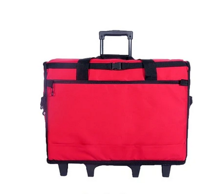23 Wheeled Sewing Machine Carrier, TB23 - Red
