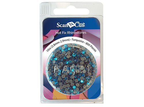 Rhinestone Refill Pack 10SS (2.8 mm - 2.9 mm) - Turquoise