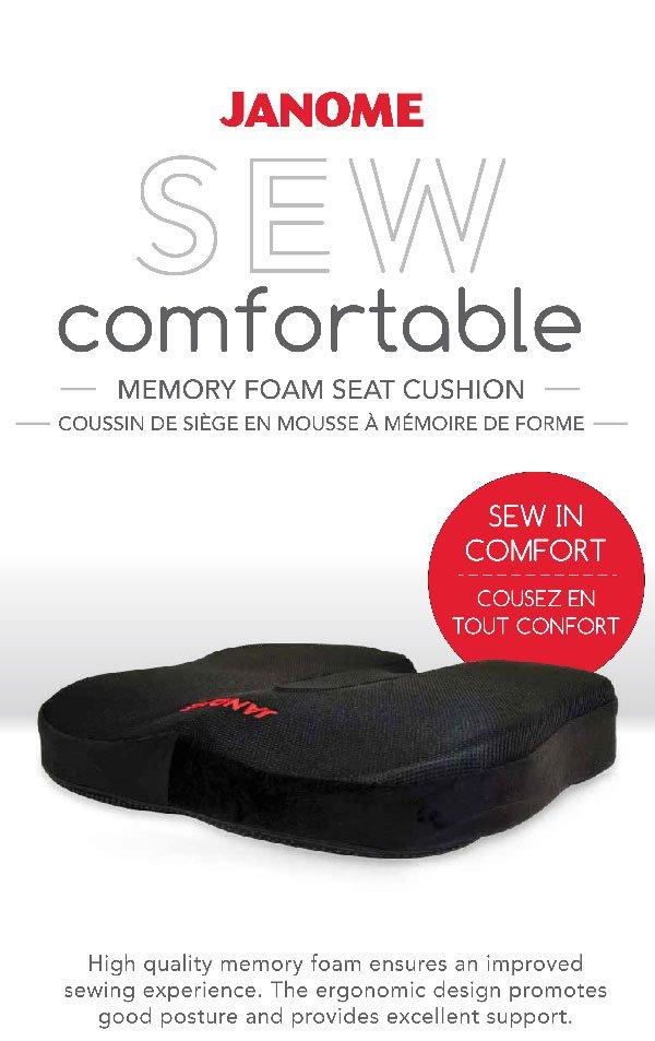 Sew Comfortable Seat Cushion