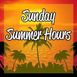 Sunday Summer Hours